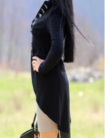 Дамско сако в черно