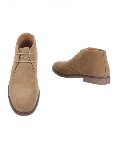 Мъжки обувки в кафяво