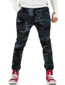 Мъжки панталон в цвят armygreen