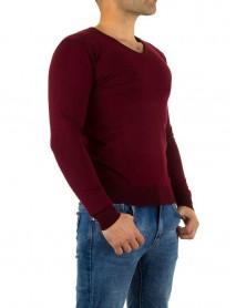 Мъжка блуза във виненочервен цвят