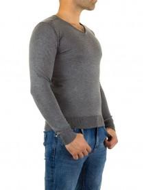Мъжка блуза в сиво