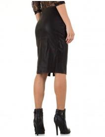 Дамска пола с цип