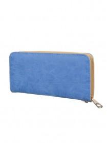 Синьо дамско портмоне-чантичка
