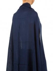 Дамски шал в тъмносиньо