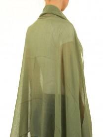 Дамски шал в светлозелено