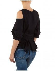 Дамска риза в черно