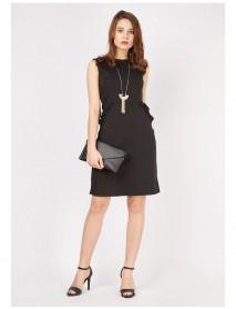 Дамска рокля-сукман в черно