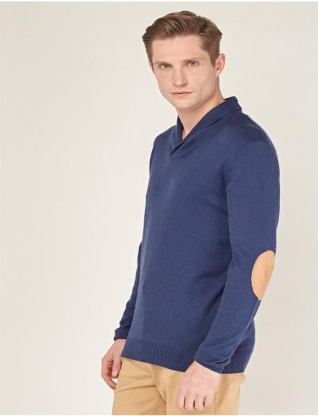 Мъжка блуза от фино плетиво