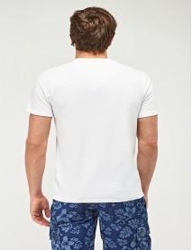 Мъжка тениска в бяло - My own empire
