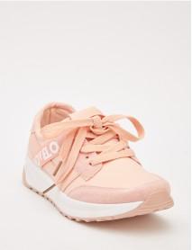 Удобни дамски маратонки в розово