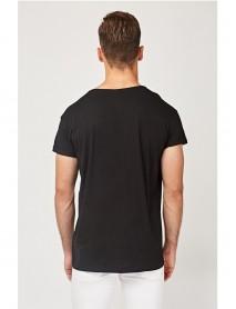 Черна мъжка тениска-Paris,London,Berlin,Copenhagen