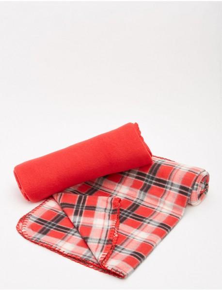 Комплект от две поларни одеяла