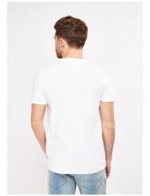 Мъжка тениска в бяло-Yes to Party