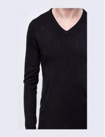 Мъжка блуза в черно